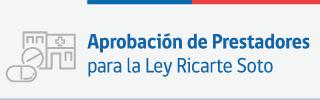Prestadores ley Ricarte Soto